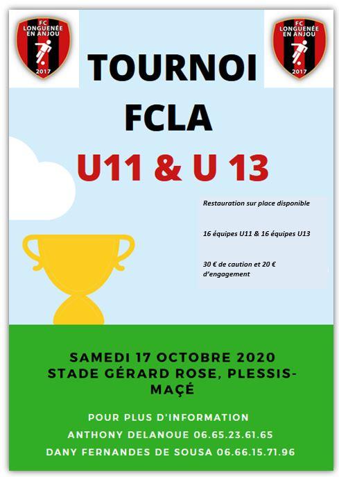Tournoi FCLA 2020 du 17 octobre 2020
